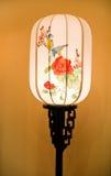 Lampada di tabella tradizionale cinese fotografia stock