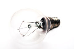 Lampada di vetro Fotografia Stock