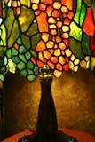 Lampada di vetro della macchia Fotografia Stock