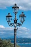 Lampada di via Fotografie Stock Libere da Diritti
