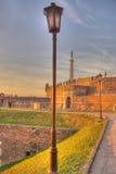 Lampada di via a Belgrado Fotografie Stock