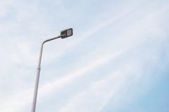 Lampada di via del LED Fotografia Stock