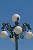 Lampada di via dell'ippocampo Fotografia Stock Libera da Diritti
