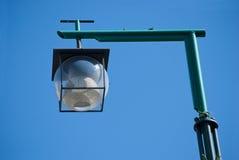 Lampada di via della palla Immagine Stock