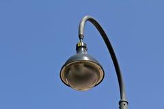 Lampada di via isolata Fotografia Stock