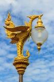 Lampada di via tailandese Immagini Stock