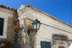 Lampada di via tradizionale Fotografia Stock Libera da Diritti
