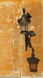 Lampada di via tradizionale Immagini Stock
