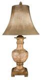 Lampada e tonalità di ceramica della Tabella Immagini Stock