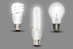 Lampada economizzatrice d'energia Fotografie Stock Libere da Diritti