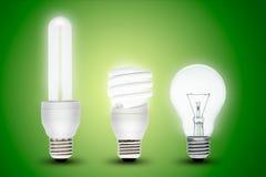 Lampada economizzatrice d'energia Immagine Stock Libera da Diritti