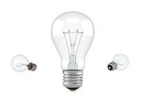 Lampada elettrica Fotografia Stock