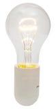 Lampada elettrica brillante della lampadina Immagine Stock Libera da Diritti