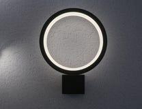 Lampada elettrica ovale Fotografia Stock Libera da Diritti