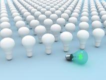 Lampada elettrica unica illustrazione vettoriale
