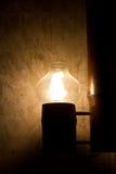 Lampada fatta a mano Fotografie Stock