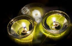Lampada felice di notte di diwali Fotografia Stock Libera da Diritti