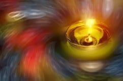 Lampada felice di notte di diwali Immagine Stock