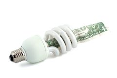 Lampada fluorescente Immagine Stock