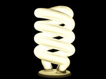 Lampada fluorescente Fotografie Stock