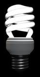 Lampada fluorescente compatta illustrazione di stock