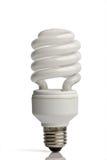 Lampada fluorescente compatta Fotografie Stock