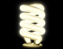 Lampada fluorescente con luminescenza morbida Fotografia Stock Libera da Diritti