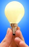 Lampada gialla Immagine Stock