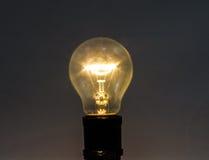 Lampada incandescente Fotografia Stock Libera da Diritti