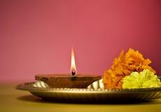 Lampada indiana Fotografia Stock Libera da Diritti
