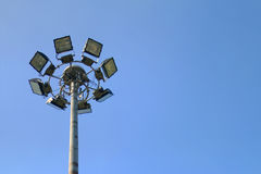 Lampada leggera della strada del punto Fotografia Stock