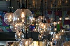 Lampada leggera di lusso Fotografia Stock