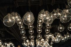 Lampada leggera di lusso Fotografie Stock Libere da Diritti
