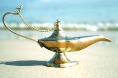 Lampada magica Fotografie Stock