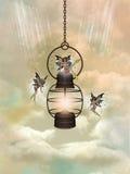 Lampada magica Immagini Stock Libere da Diritti