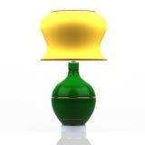 Lampada moderna colorata Fotografia Stock