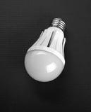 Lampada moderna del LED su fondo nero Immagine Stock Libera da Diritti