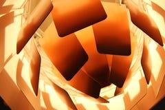 Lampada moderna di progettazione danese Fotografia Stock