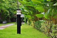 Lampada nel giardino Immagine Stock Libera da Diritti