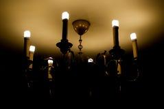 Lampada nel retro stile Fotografia Stock