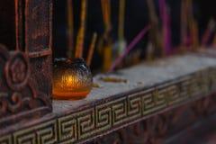 Lampada pilota del tempio Fotografie Stock Libere da Diritti