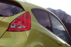 Lampada posteriore di nuova automobile Fotografia Stock