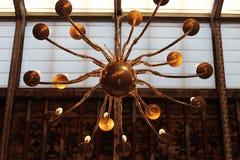 Lampada radiale bronzea Immagine Stock Libera da Diritti