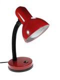 Lampada rossa Immagini Stock