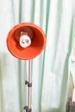 Lampada rossa moderna Immagini Stock