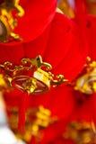 Lampada rossa in Tailandia immagini stock