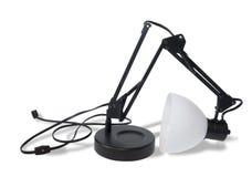 Lampada rotta (percorso di residuo della potatura meccanica) Fotografia Stock