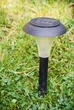 Lampada solare amichevole di Eco Fotografia Stock Libera da Diritti