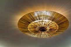 Lampada sul soffitto Fotografie Stock