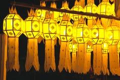 Lampada tailandese di stile Immagini Stock Libere da Diritti